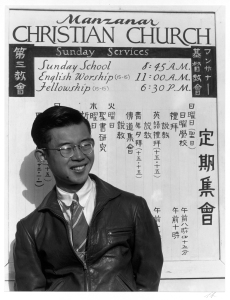 Tatsuo Miyake (student of divinity) photograph by Ansel Adams