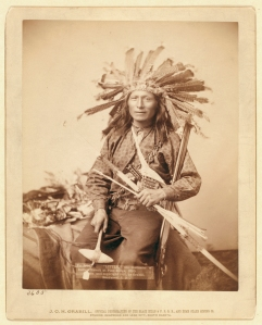 """Little,"" the instigator of Indian Revolt at Pine Ridge, 1890 Grabill, John C. H., photographer"