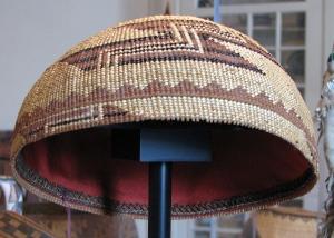 Yurok-Karok woman's cap