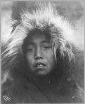 Eskimo child, Alaska, ca. 1905