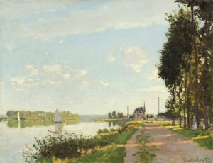 Claude Monet French, 1840 - 1926 Argenteuil, c. 1872 oil on canvas