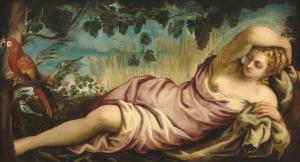 Jacopo Tintoretto Italian, 1518 - 1594 Summer, c. 1555 oil on canvas