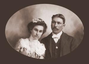 Georgia Alma Guthrie Palmer & Arthur Franklin Palmer, Sr.