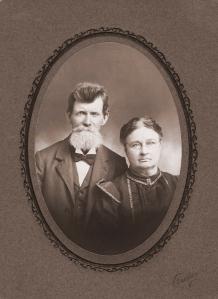Joseph Thomas Palmer & Lydia Ann Brinson Palmer 1901