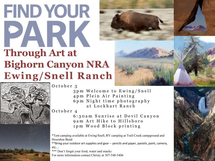 Find Your Park Through Art!!