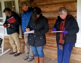 Participants drawing the Ewing-Snell view