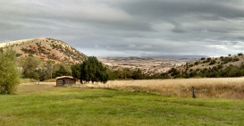 The view from Ewing-Snell Ranch