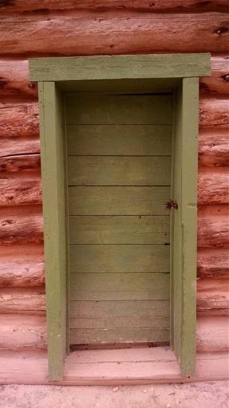 The Post Office door at Hillsboro Ranch