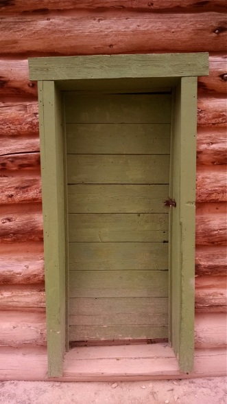 The Post Office door at Hillsboro Ranch