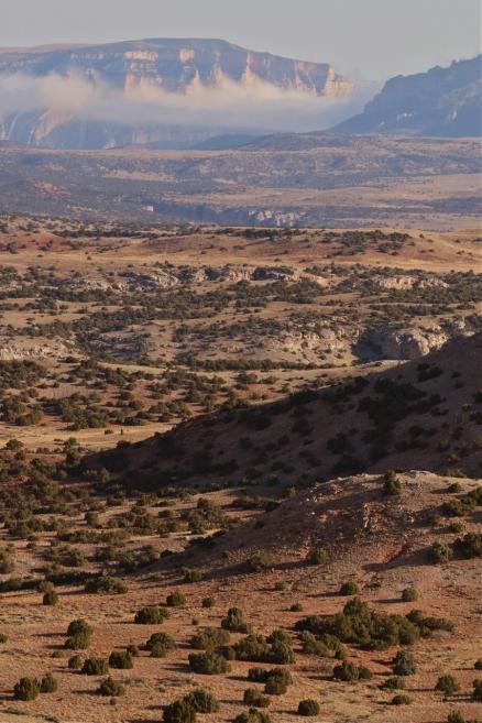 Bighorn Canyon looking north