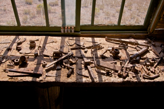implements at Lockhart Ranch