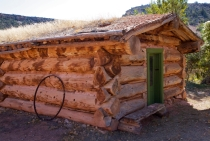 the dude cabin at Hillsboro Ranch