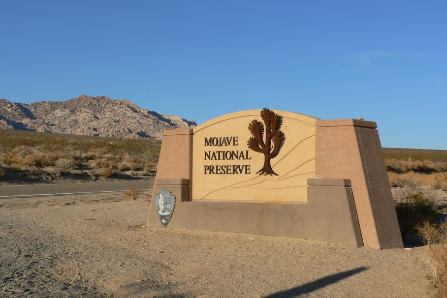 Mojave_National_Preserve_sign_1