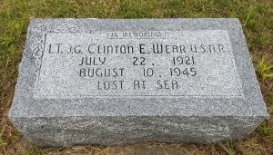 My Grandpa Clinton (Clem) Wear