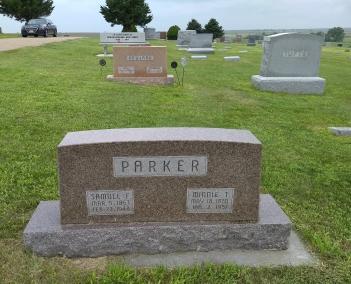 Great Great Grandparents Minnie & Sam Parker